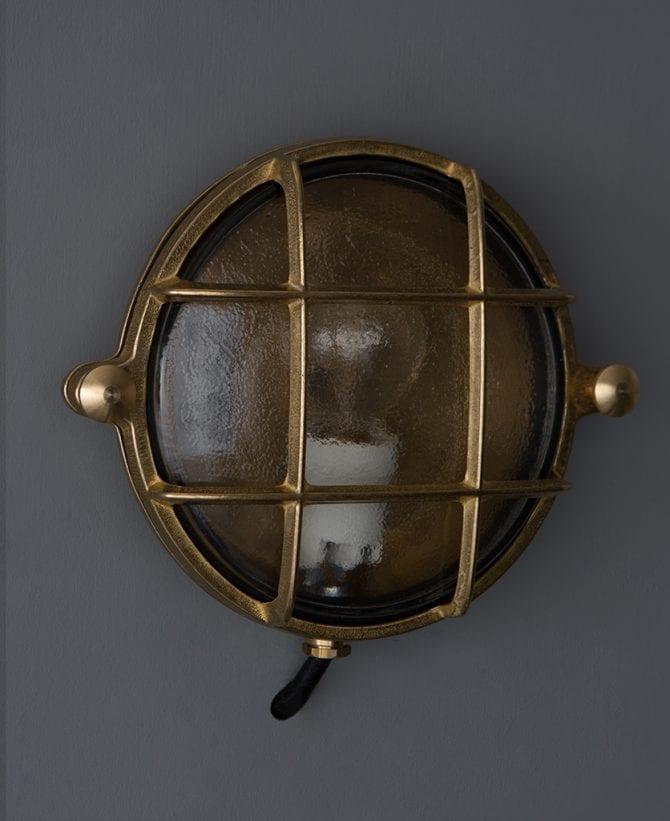 mark brass bulkhead light