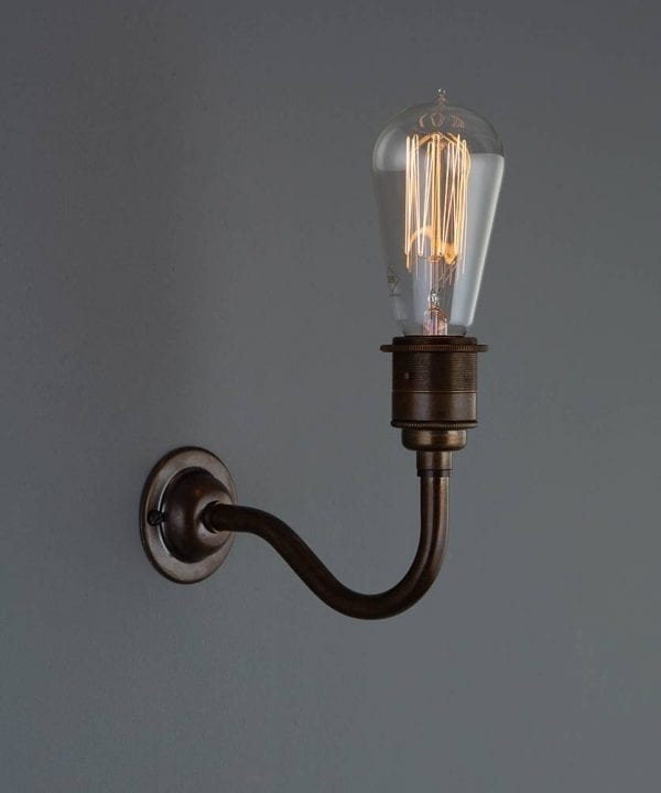 Bramley vintage metal wall sconces