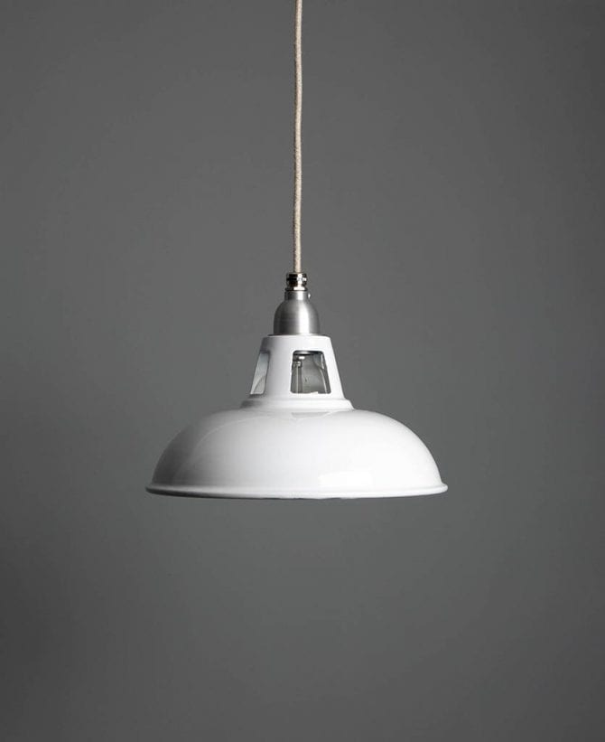 Farsley enamel ceiling pendant