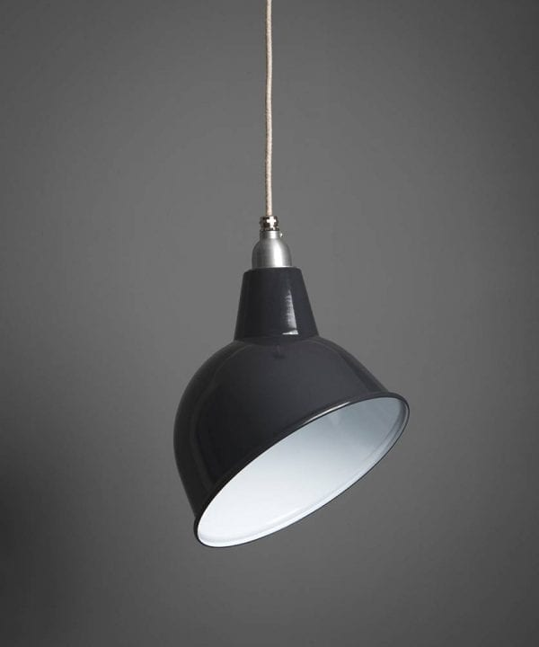 Oulton enamel ceiling pendant