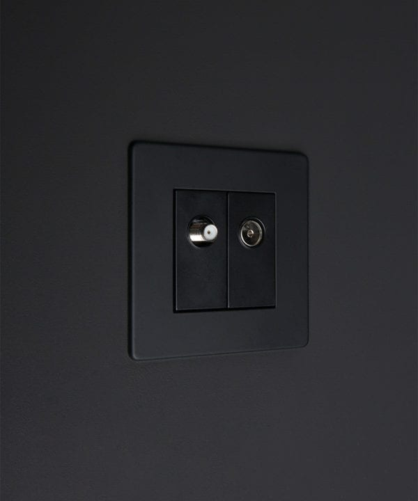 black double port
