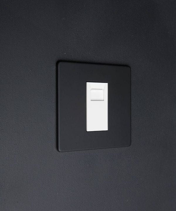 Black & white Single Data Port