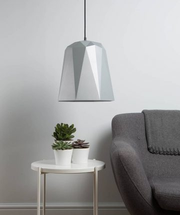 nagoya geometric pendant light