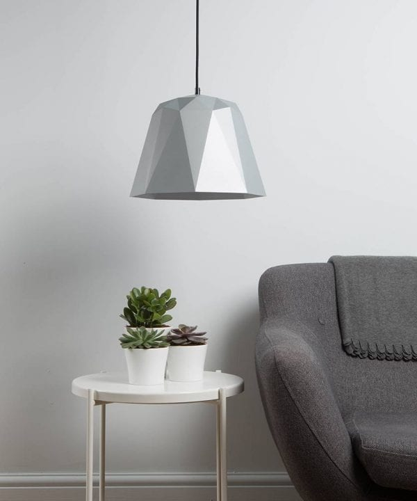 Geometric pendant light osaka white
