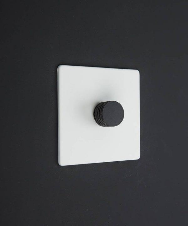 white & black single dimmer