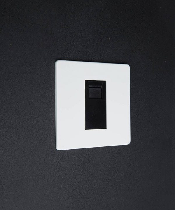 White & black Single Data Port
