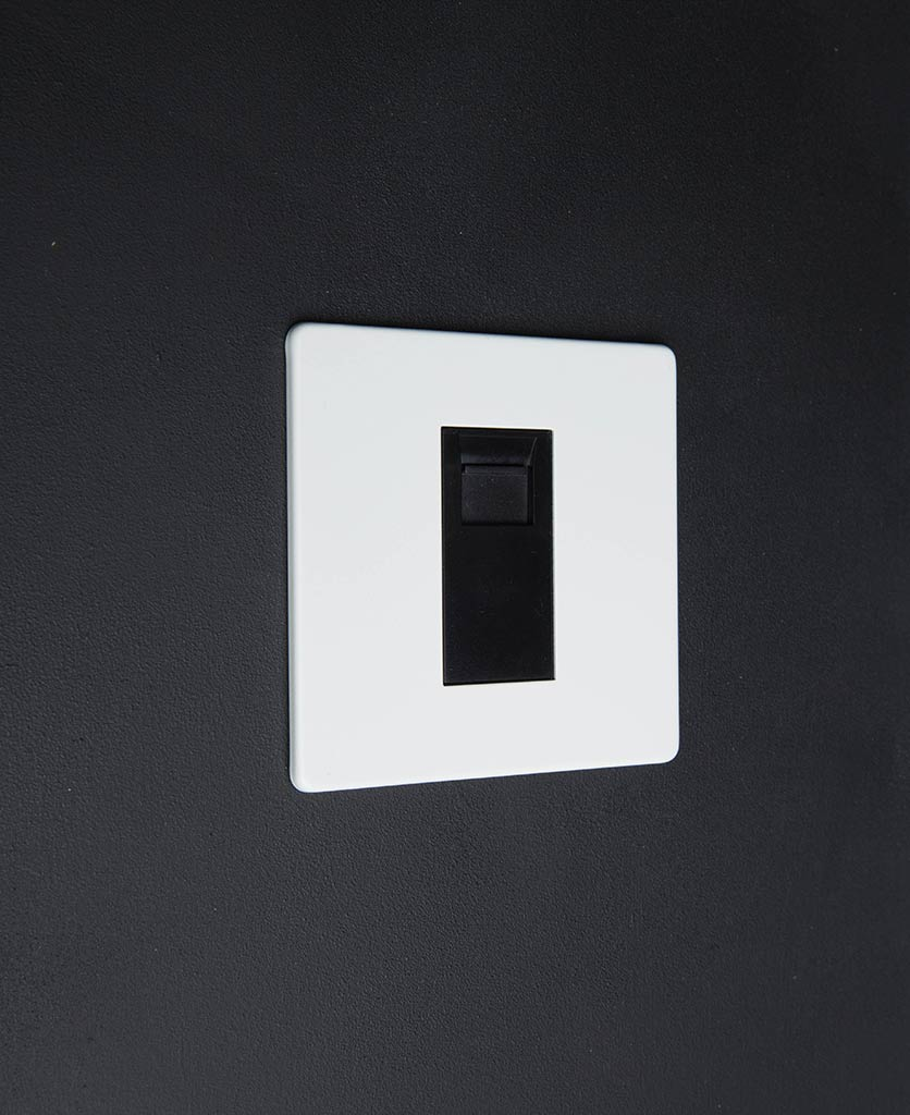 White & black Single Data Port