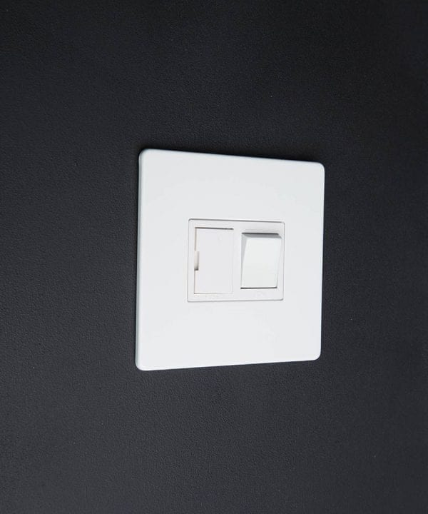 White Fused Spur Switch