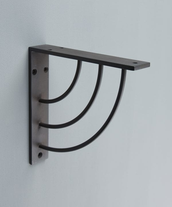marilyn metal arc shelf bracket