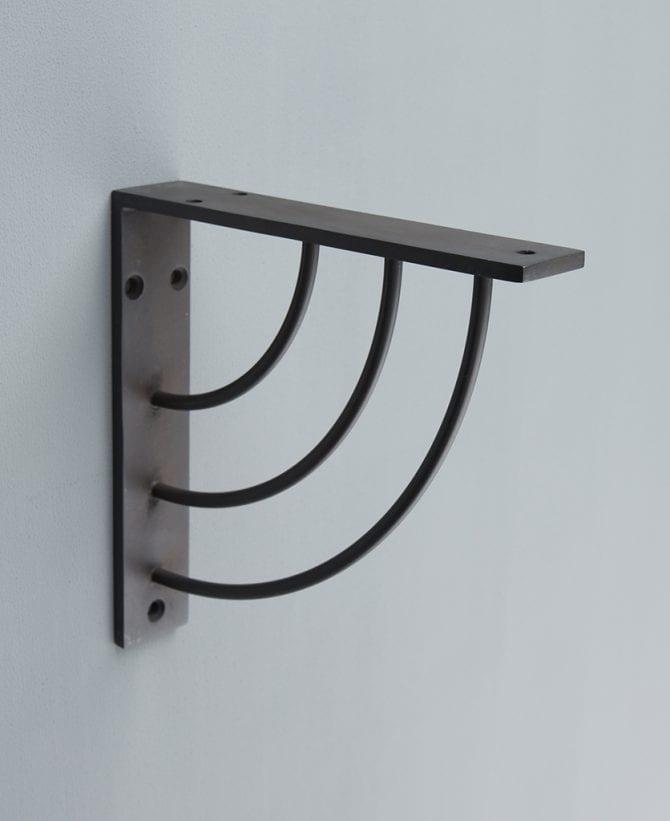 marilyn metal arc shelf bracket