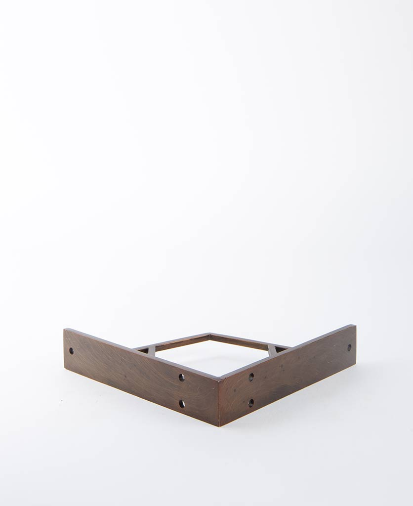 hex shelf bracket antique