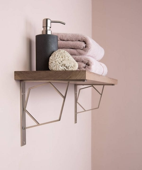 Marlene Hexagonal Shelf Bracket