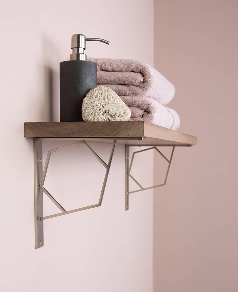 Marlene Hexagonal Shelf Bracket