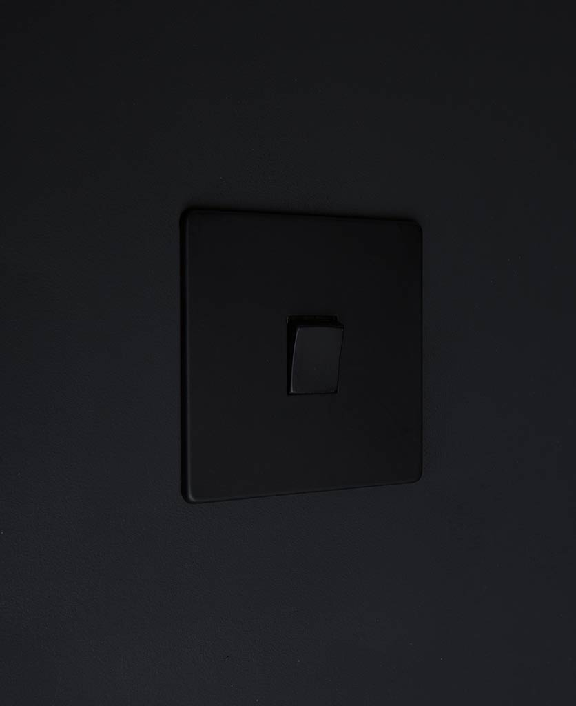 black light switches double rocker switch with black switch detail on black wall