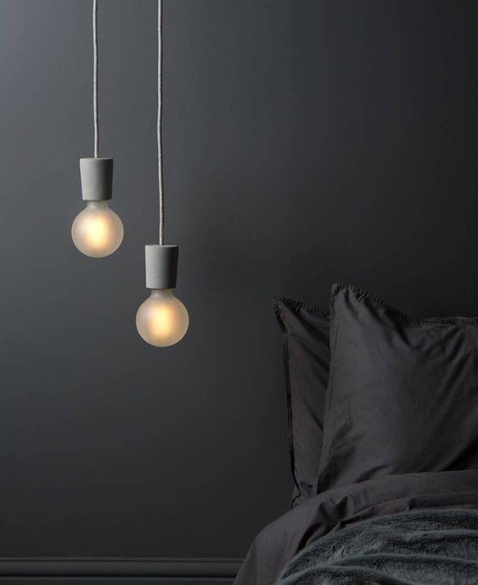small concrete pendant lifestyle