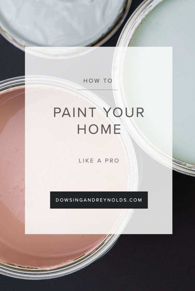 how to paint your home like a pro