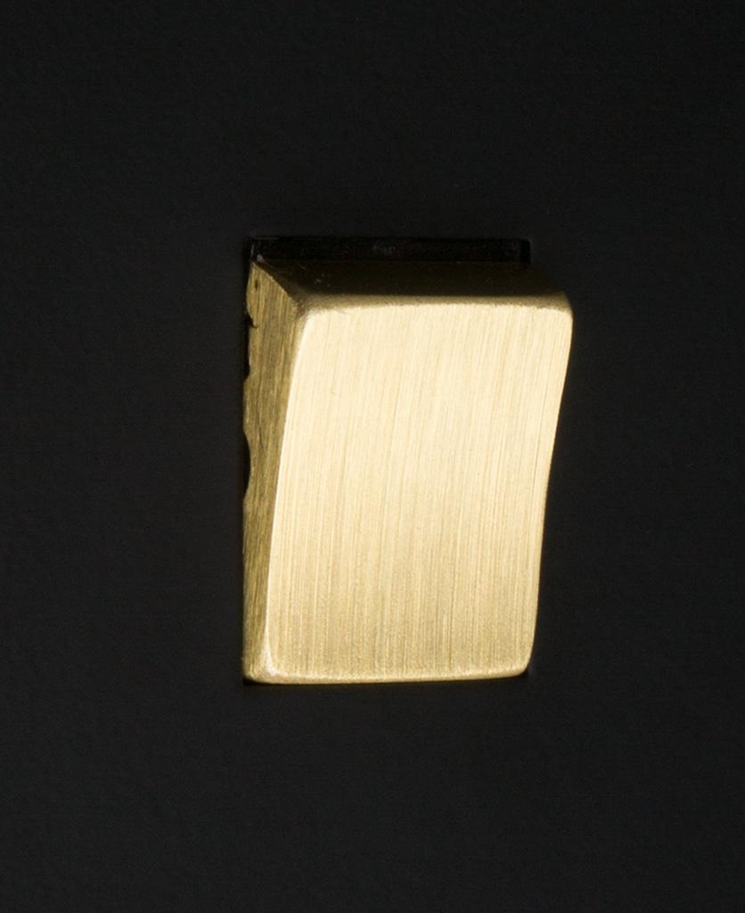 black and gold 1g intermediate rocker switch close up