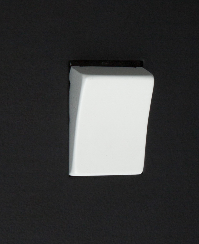 black and white 1g intermediate rocker switch close up