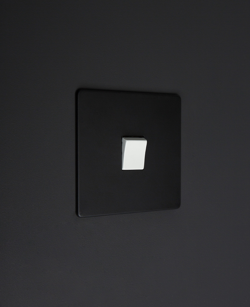 black and white 1g intermediate rocker switch