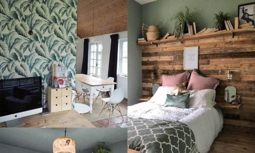 collage of four bedrooms