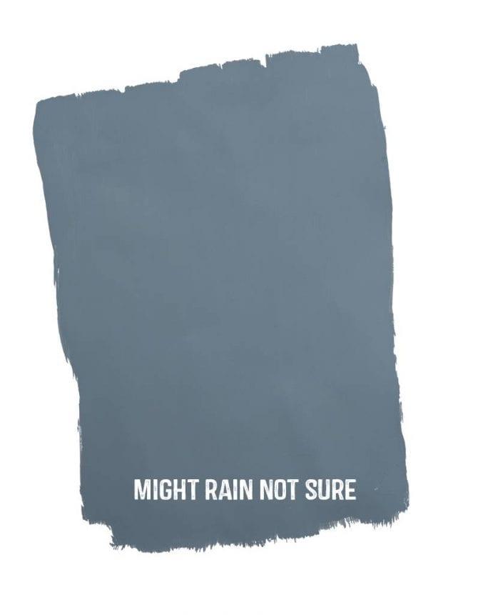 might rain not sure sample