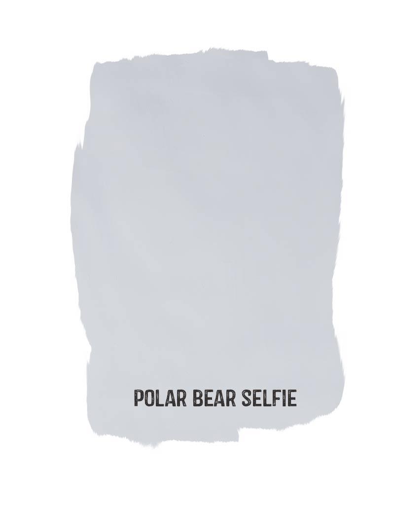 polar bear selfie sample