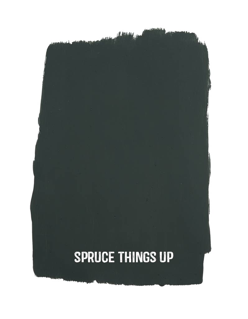 spruce things up sample