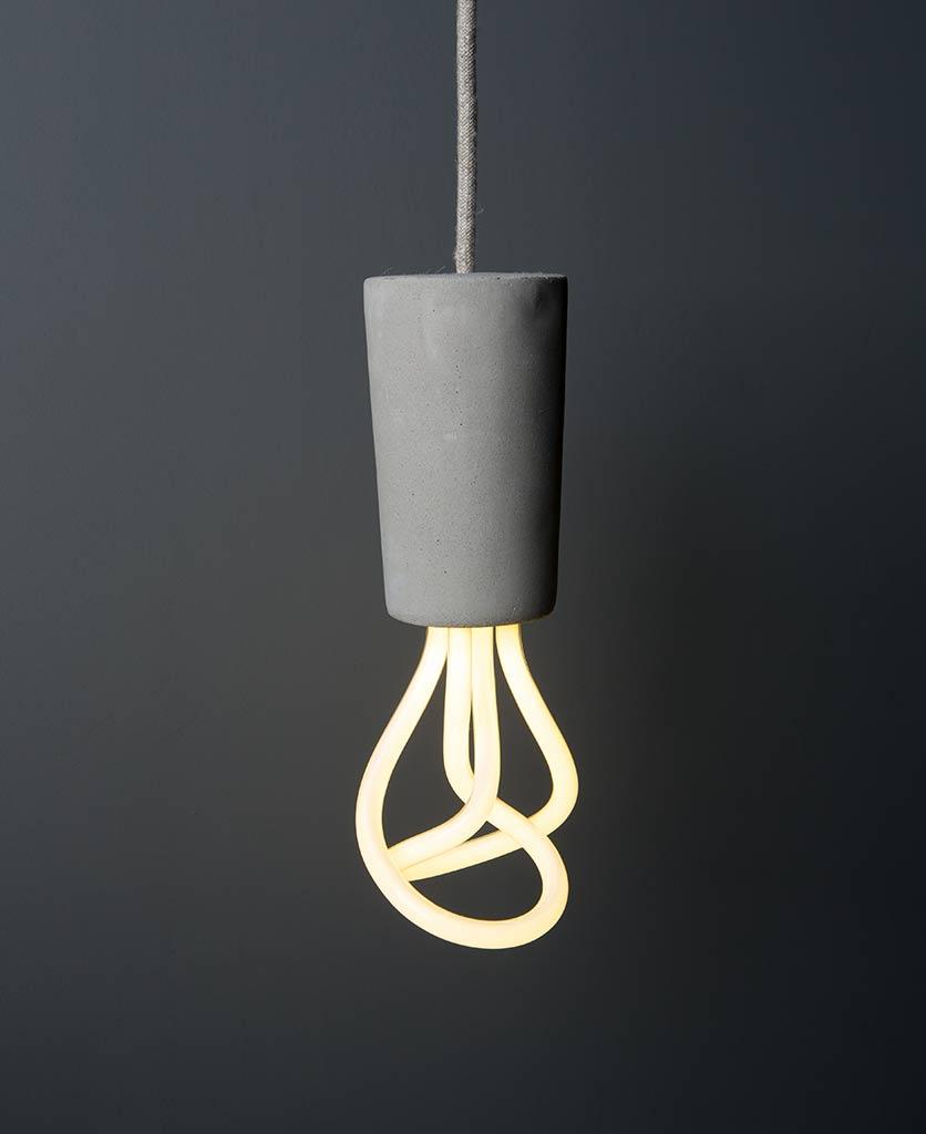 Concrete Plumen Pendant Lamp