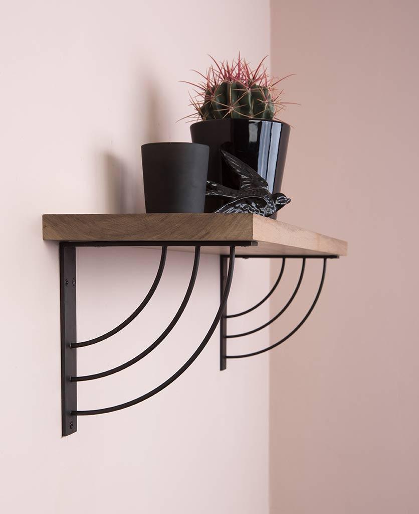 achieving the perfect shelfie black marilyn shelf brackets