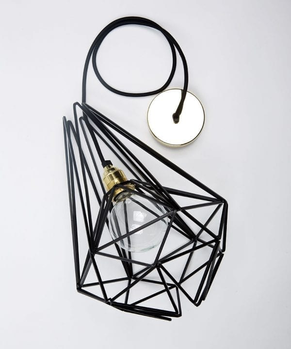 assam cage pendant light