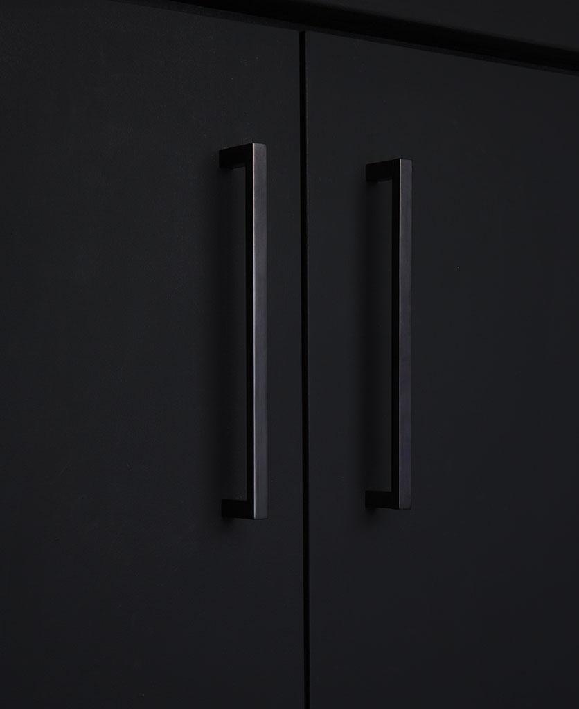 taipei kitchen door handle bronze