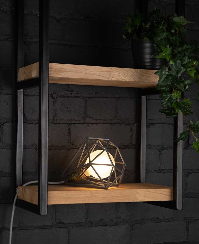 Earl Grey Cage Table Light