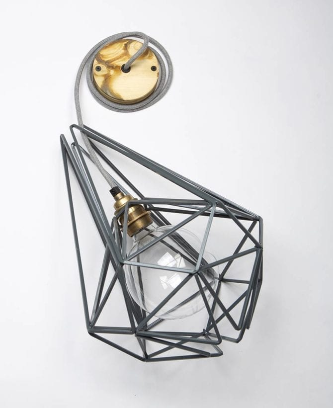 Large Earl Grey Cage Pendant Light