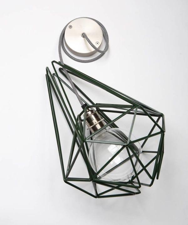 Matcha Cage Pendant Light