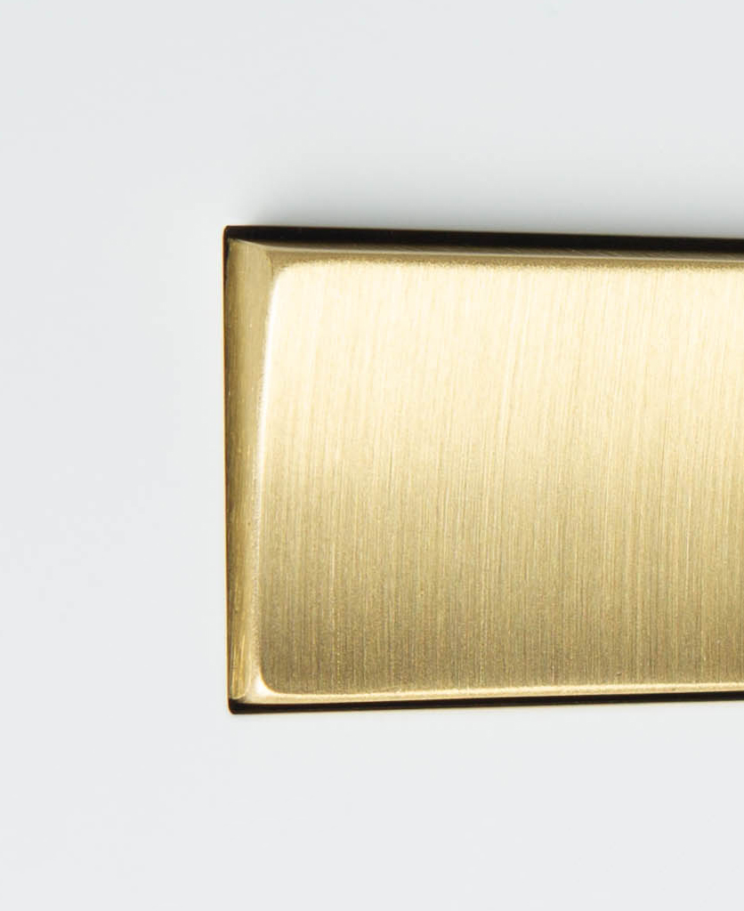 white and gold fan switch close up