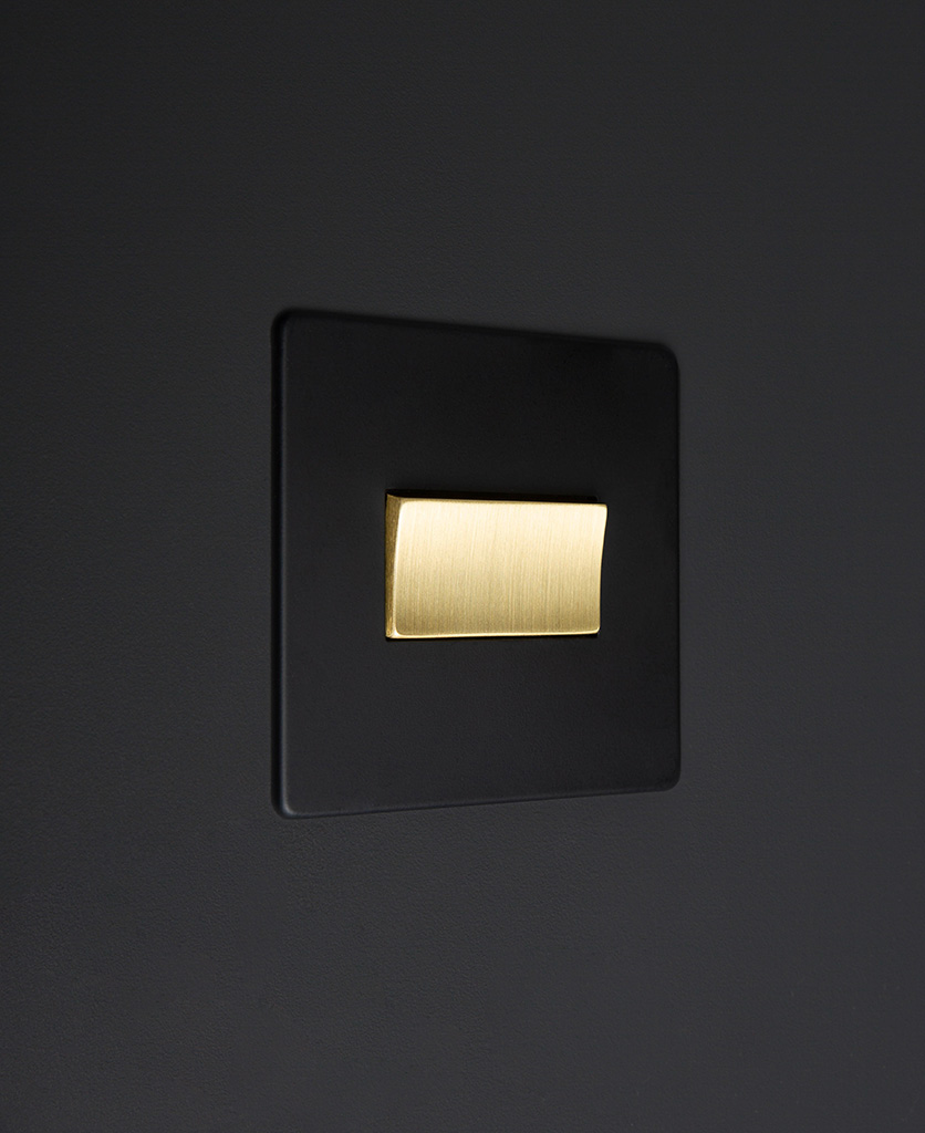 black and gold fan switch