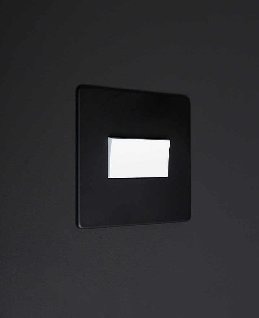 black and white fan switch
