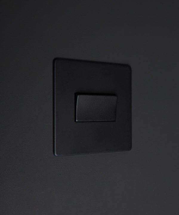 black fan switch