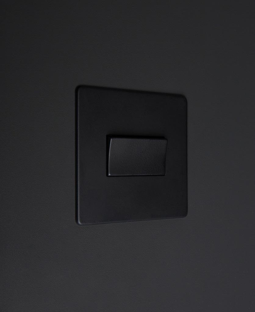 black fan switch
