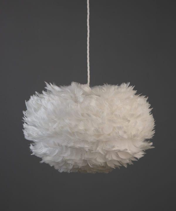 Feather pendant light