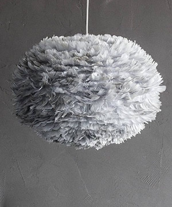 Vita feather pendant light