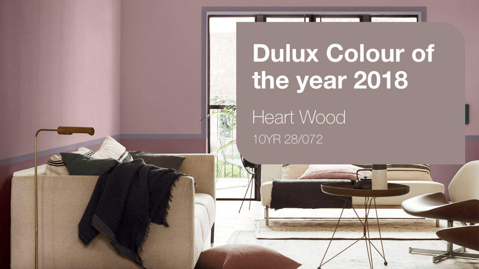 photo of dulux colour of the year 2018 Heart Wood