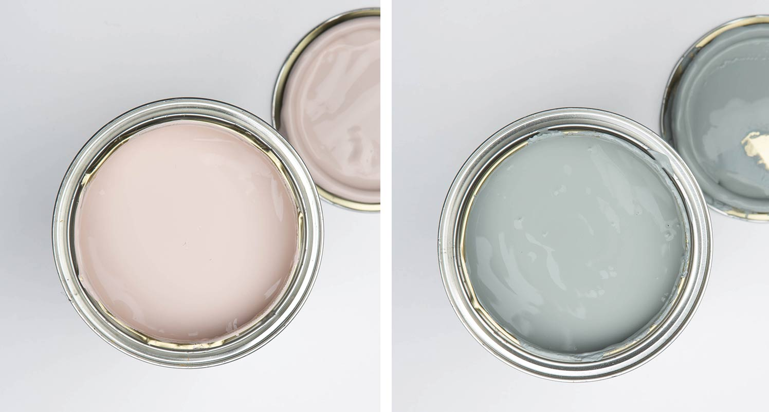 get plastered open paint tin and sea foam party open paint tin