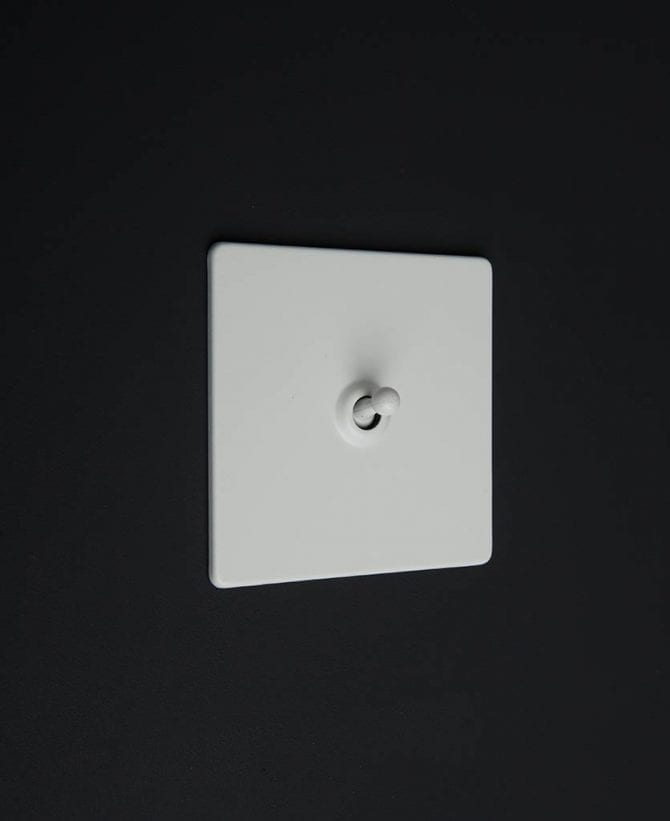 white & white single toggle