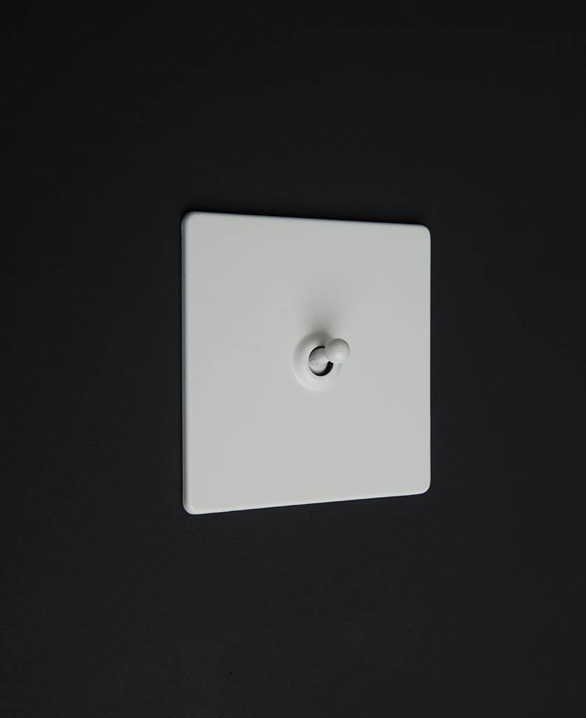 white & white single toggle