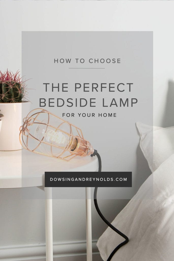 how to choose the perfect bedside lamp for your home