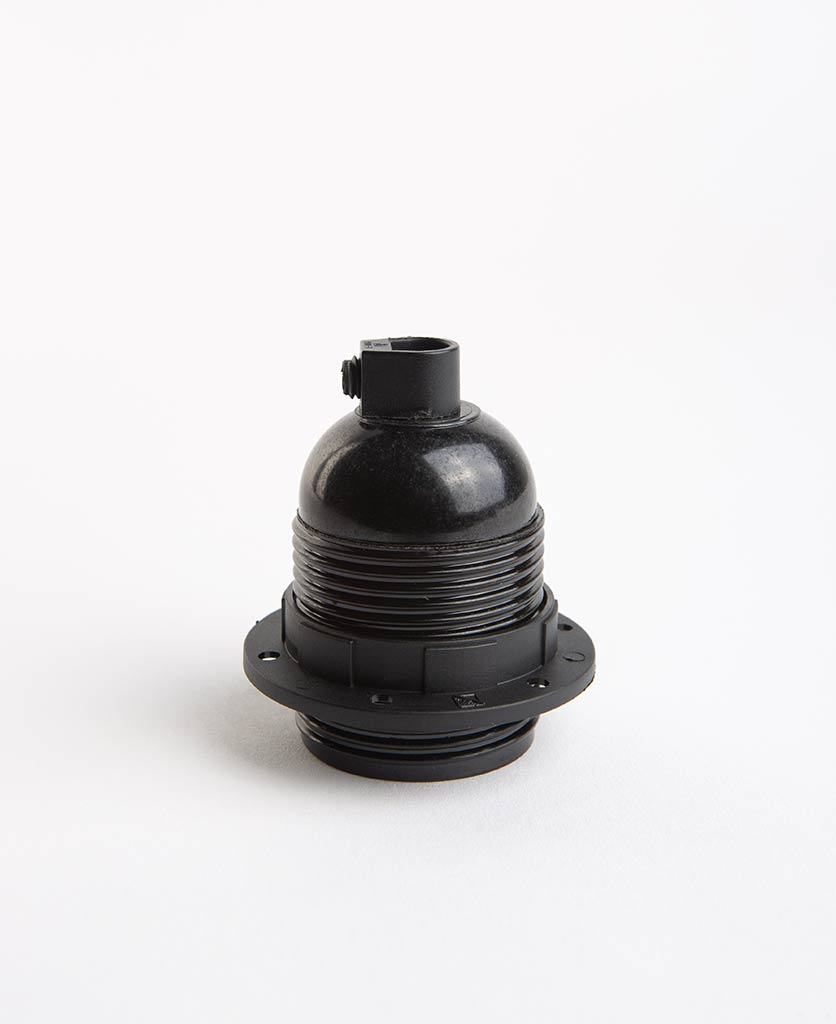 Bakelite E27 threaded bulb holder