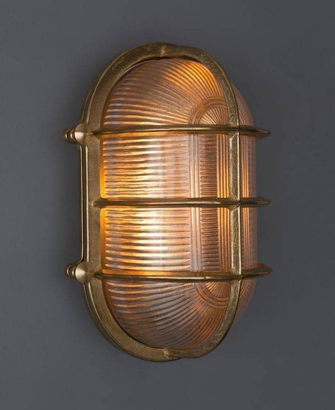 big steve brass bulkhead light