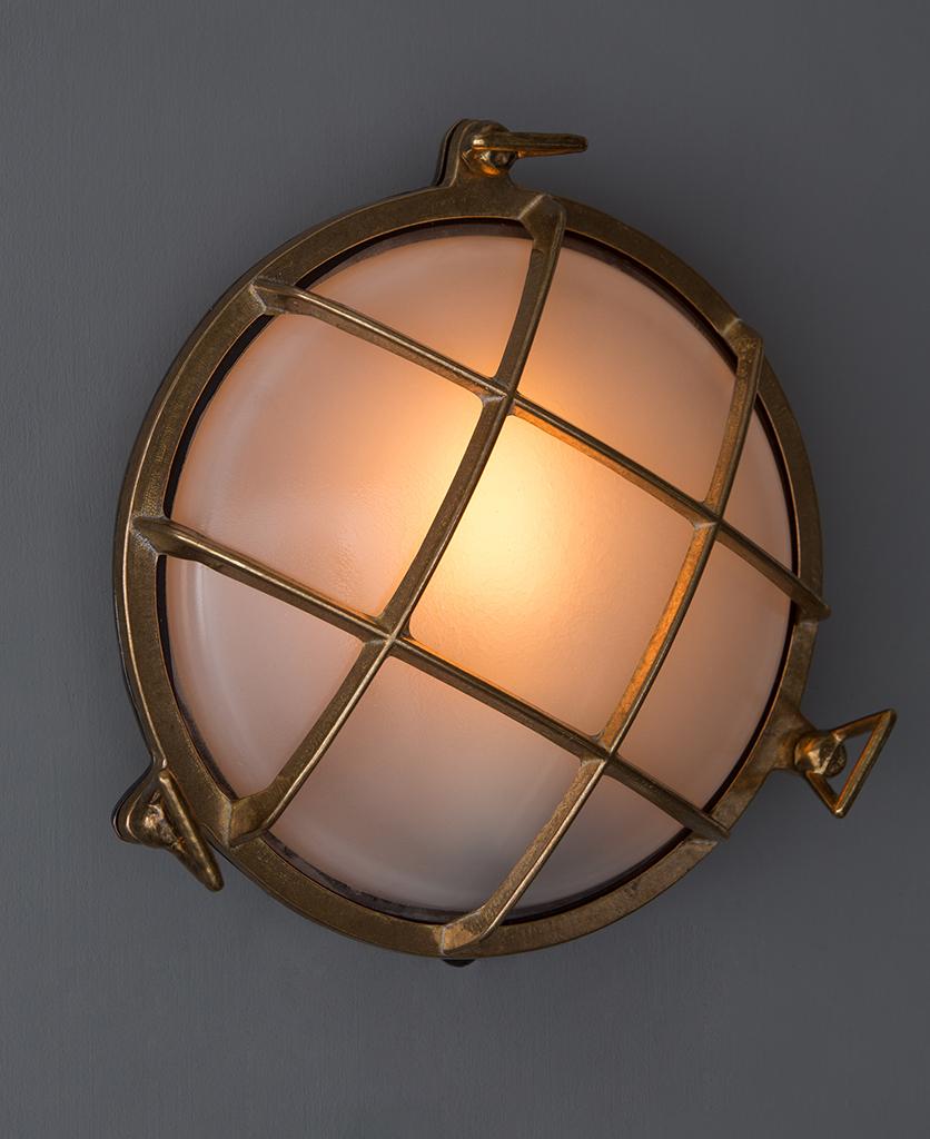 Chris Brass Bulkhead Light