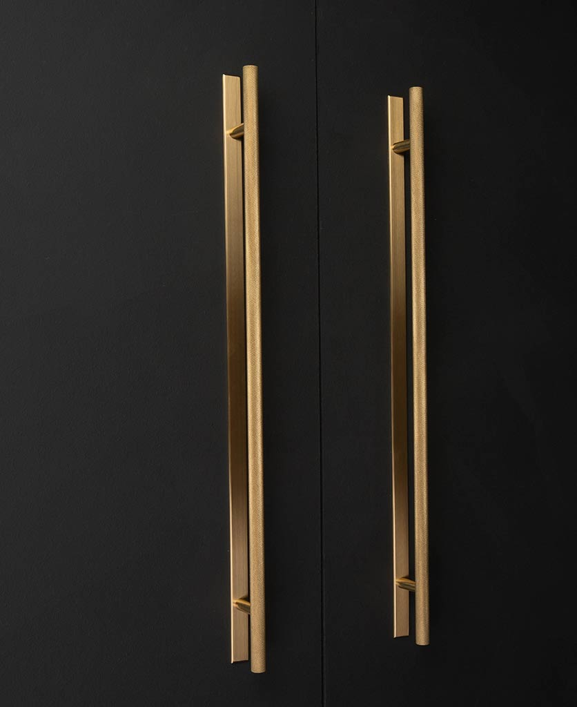 Chunky Skyscraper brass with back plate